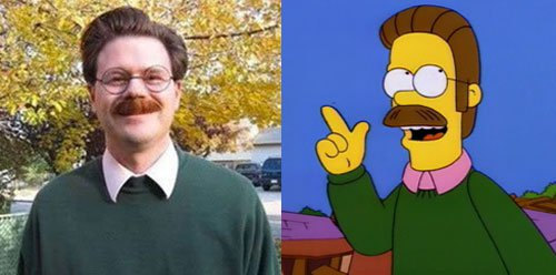 16 People Who Uncannily Look Like Characters From The Simpsons